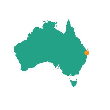 Brisbane - Map
