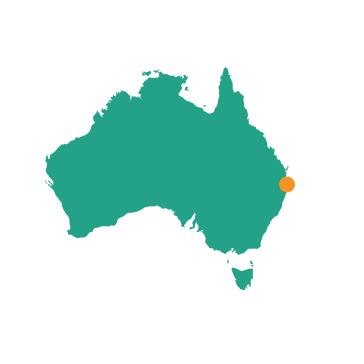 Byron Bay - Map