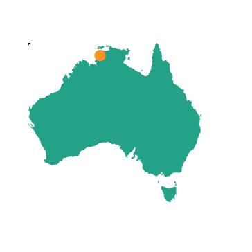Darwin - Map