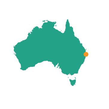 Gold Coast - Map