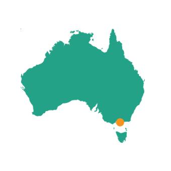 Melbourne - Map